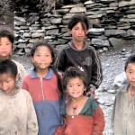 Children in Humla Village, 2010