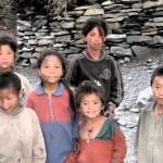 Children in Humla Village, 2010