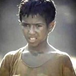 Photo: Child actor Adnan Afravian as Bashu