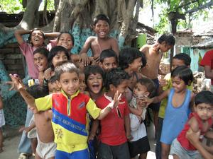 Happy Children in Indian