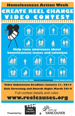 Create Reel Change Video Contest | Homelessness Action Week