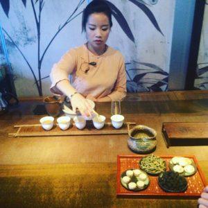 Shanghai tea